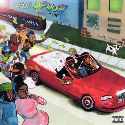 Gucci Mane - Droptopwop - Album Download, Itunes Cover, Official Cover, Album CD Cover Art, Tracklist