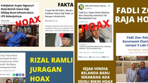 Serang Rizal Ramli dan Fadli Zon, Netizen: Raja Hoax
