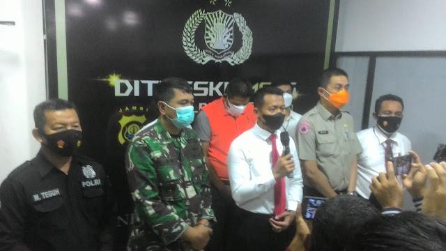 Kasus Ilegal Driling, Oknum Anggota Polres Batang Hari Jambi Diringkus Polisi