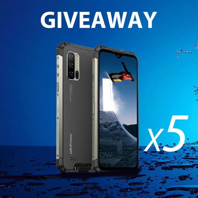 Sorteio de (5) Cinco Smartphones Ulefone Armor 7!!