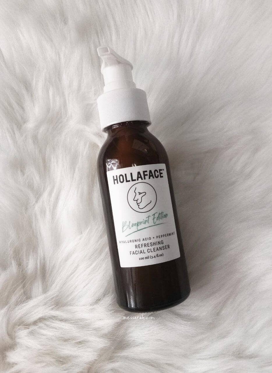 HOLLAFACE SULFATE-FREE REFRESHING FACIAL CLEANSER REVIEW