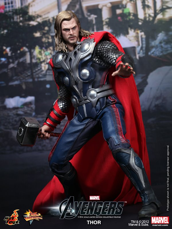 TOUKAI MODEL&TOY STORE 東海模型玩具情報網: The Avengers: Thor Limited Edition Collectible Figurine 復仇者聯盟 雷神索爾 2012年 ...