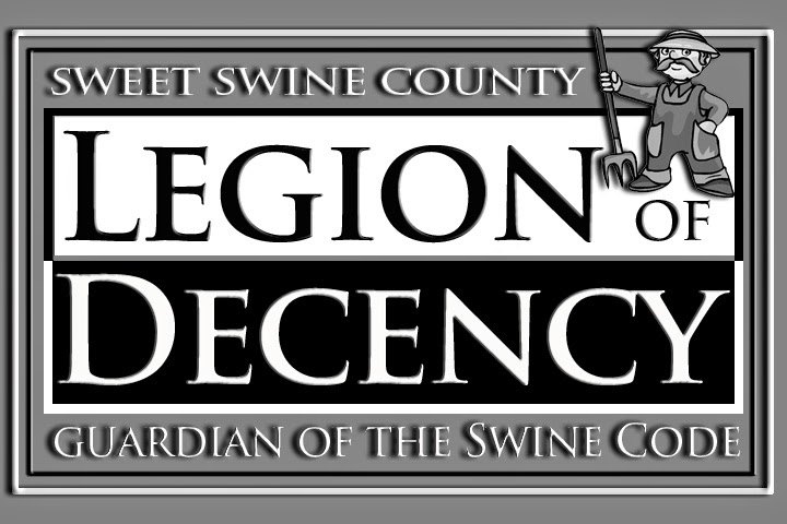 "Sweet Swine County's ""Legion of Decency Board"" Holds an Emergency Meeting"
