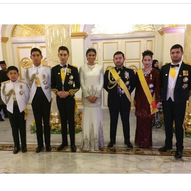 Tengku mahkota johor wedding