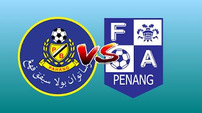 Live Streaming Pahang vs Pulau Pinang Piala Malaysia 3.8.2019