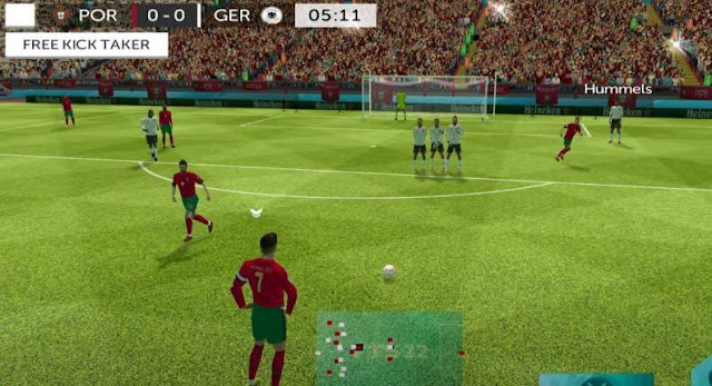 FTS 22 MOD Euro 2020 Android Offline 4K Best Graphics