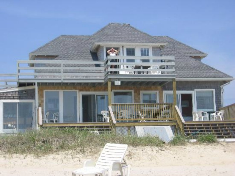 Ocean front beach house, vacation home