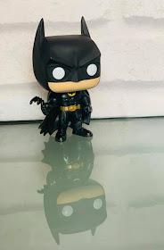 Batman 1989 Funko Pop! Heroes Vinyl figure with reflection