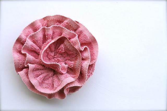 Гъба за баня, от стара кърпа