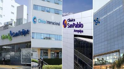 Estas son las clínicas privadas que atienden a pacientes con Covid-19