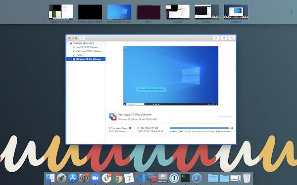 Fun with VMware on a 64 GB Mac