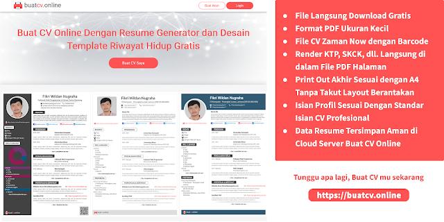 buat cv online gratis contoh cv resume maker download format pdf ukuran kecil barcode a4 lampiran email curriculum vitae generator template design riwayat hidup https://buatcv.online/