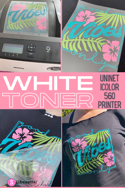 sawgrass, silhouette and sublimation, sublimation printer, printers, white toner, white toner printer