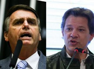 BTG Pactual: Bolsonaro tem 60% dos votos válidos; diferença para Haddad vai a 20 pontos