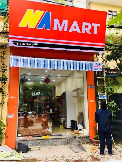 Hoàn thiện gói setup siêu thị mini tại quận Hai Bà Trưng