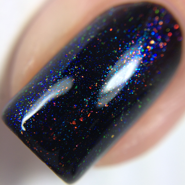 Aurora Nail Lacquer-Having a Good Time Being Catatonic in a Closet