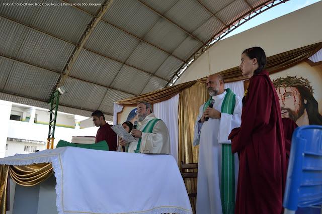 VOCAÇÃO: Missa de Encerramento do Retiro Vocacional em São Joaquim do Monte emociona todos os fieis.