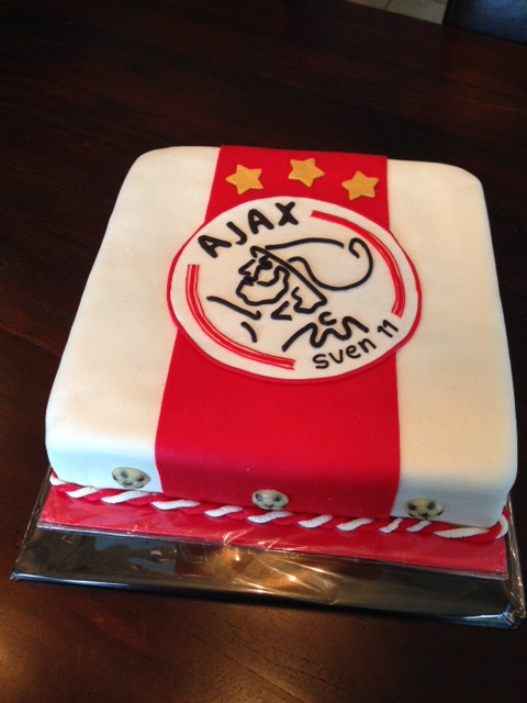 Beroemd Geliefde Ajax Taart Zelf Maken @UJJ48 - AgnesWaMu @VO29