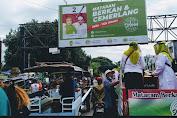 Disambut Antusias, Konvoi Srikandi SALAM Berbagai Masker Gratis Dukung Pilkada Sehat