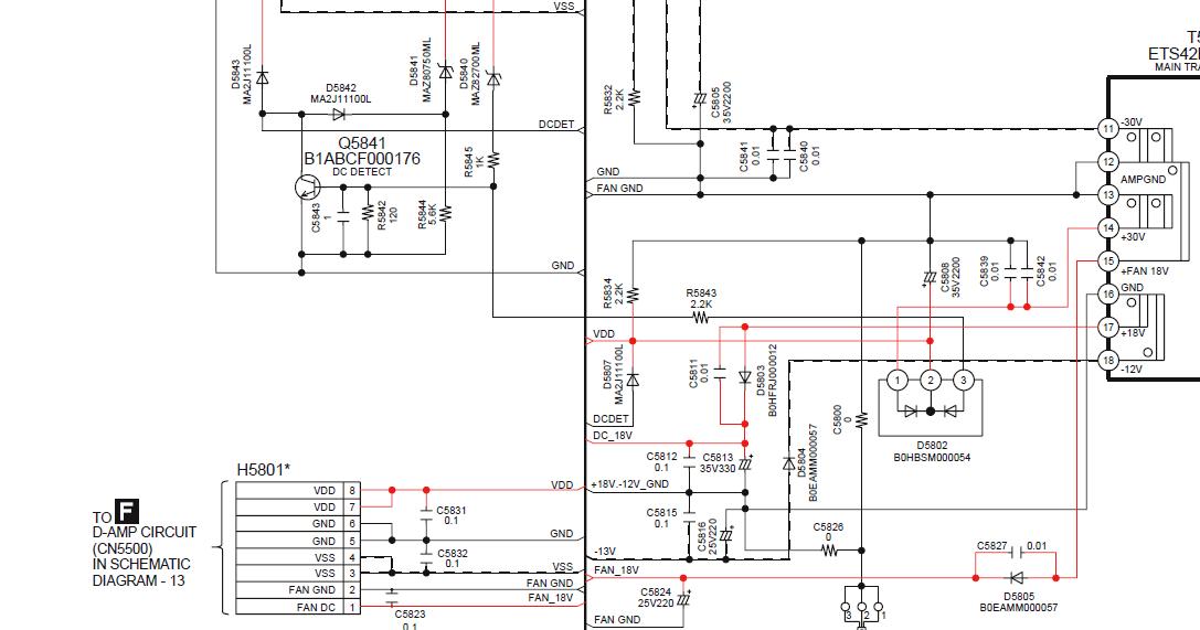 The Repair Blog: Panasonic SA PT470 dead, no power