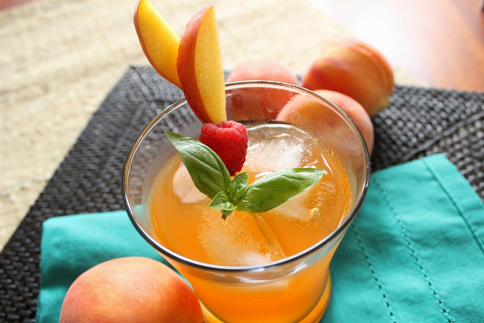 Peach Lemonade Fizzler Drink Recipe