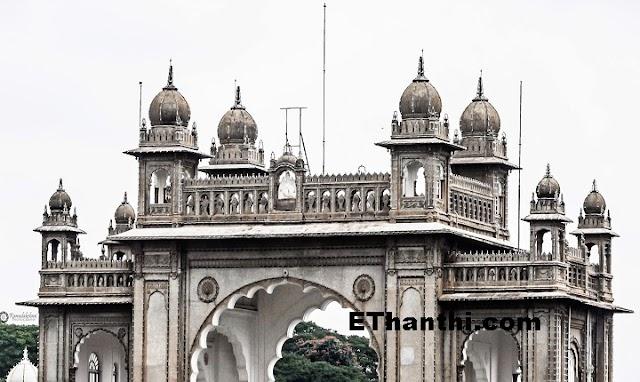 இந்தியாவின் மைசூர் அம்பா விலாஸ் அரண்மனை !