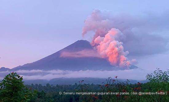 Gunung Semeru Erupsi, Sejumlah Gunung Lainnya Siaga