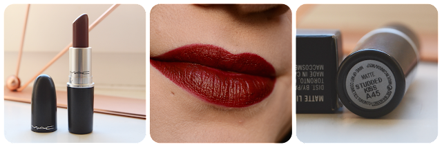 MAC, Lipstick, Swatch, Tragebild, Studded Kiss, Matte, Lippenstift, Lipswatch