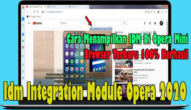 internet download manager,opera browser,idm extensions,how to install idm extension on opera browser,idm,youtube,opera mini,Idm Integration Module Opera 2020,cara menampilkan idm di opera mini,cara memunculkan idm di opera mini,idm internet download manager,idm opera,opera idm,idm download problem in opera,idm is not showing download this video,