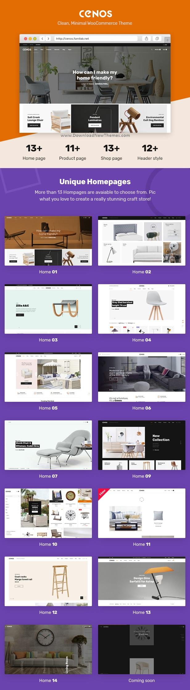 Modern Furniture WooCommerce Theme
