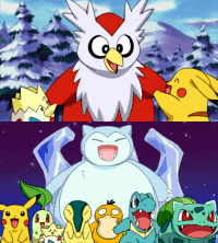 Crónica 2. Las Vacaciones De Navidad De Pikachu: El Dilema De Delibird / El Muñeco De Nieve De Snorlax