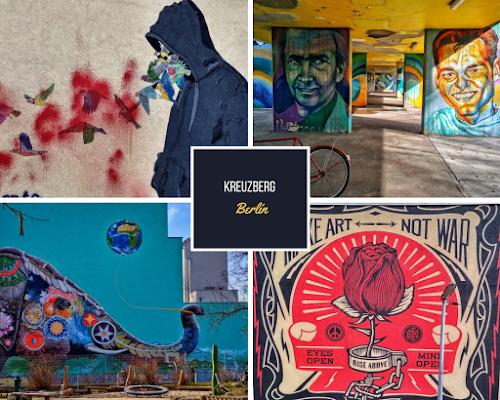 Graffitis en Kreuzberg