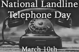National Landline Telephone Day Wishes For Facebook