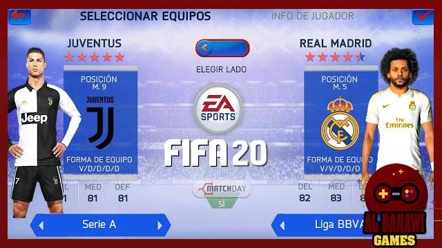 تحميل لعبة FIFA 20 PPSSPP للاندرويد Offline بصيغة iso بحجم صغير من الميديا فاير