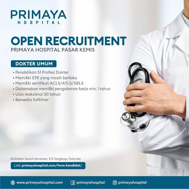 Loker Dokter Primaya Hospital Pasar Kemis