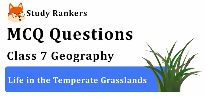 MCQ Questions for Class 7 Geography: Ch 9 Life in the Temperate Grasslands