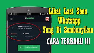 Cara Melihat Last Seen Whatsapp Yang Disembunyikan Terbaru