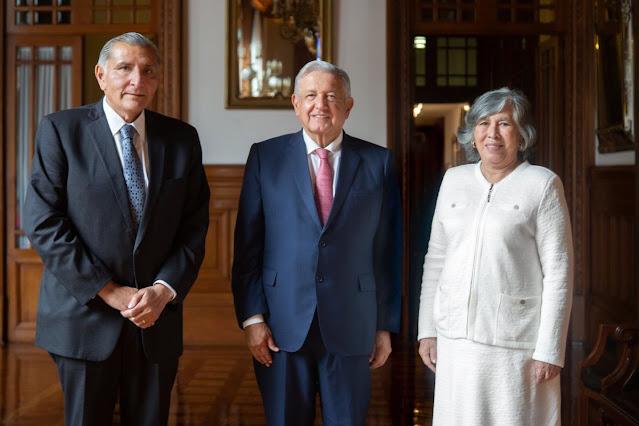 AMLO nombra nueva Consejera Jurídica de la Presidencia