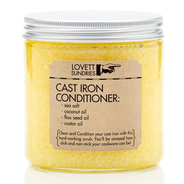 Cast Iron Conditioner | Lovett Sundries