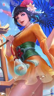 Kagura Summer Festival Heroes Mage of Skins V1