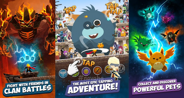 Tap Titans Mod APK Unlimited Everything