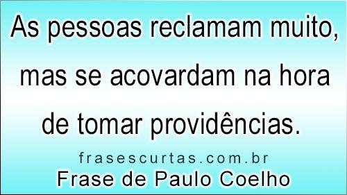 Frases De Paulo Coelho Frases Curtas