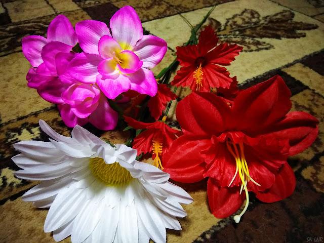 Искусственные цветы  Луганск