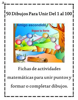 50 DIBUJOS PARA UNIR DEL 1 AL 100.