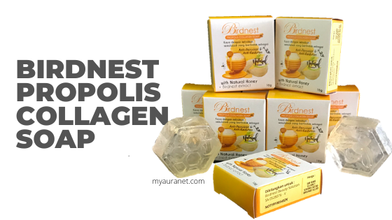 Birdnest Propolis Collagen Soap
