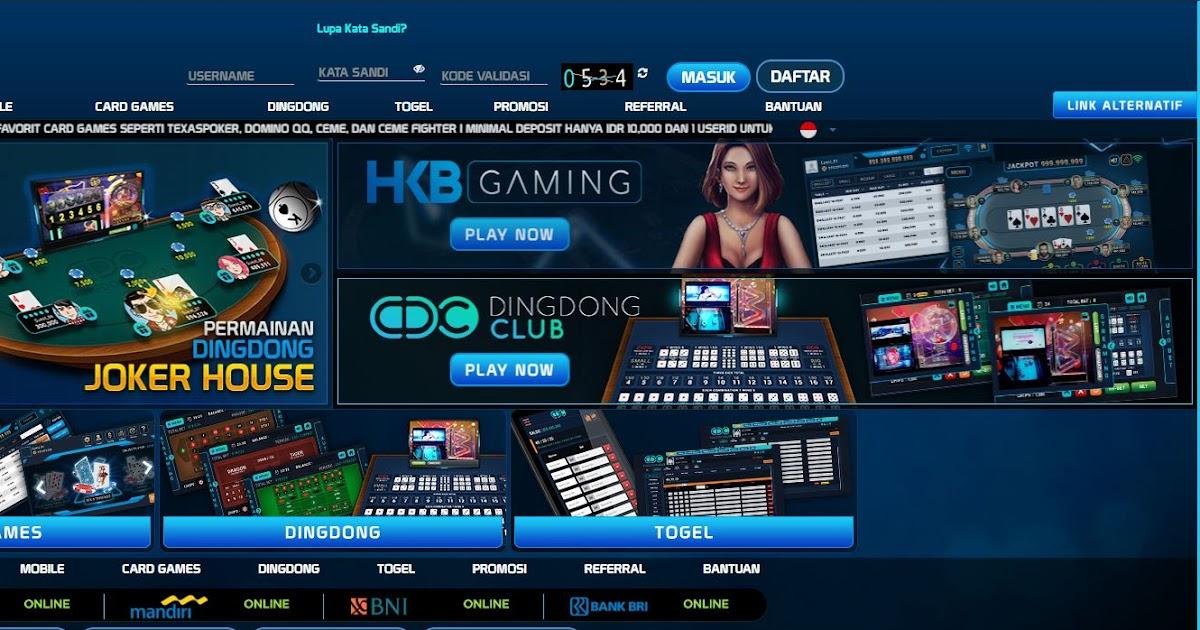 Situs Hkb Poker