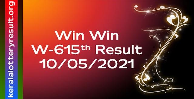 Win Win W 615 Lottery Result 10.5.2021
