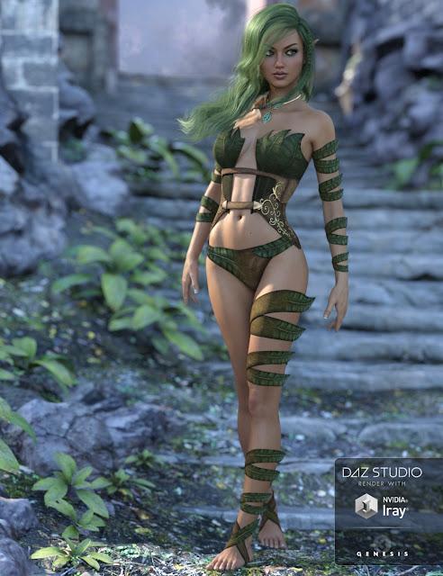 Wild Spirit for Genesis 3 Female