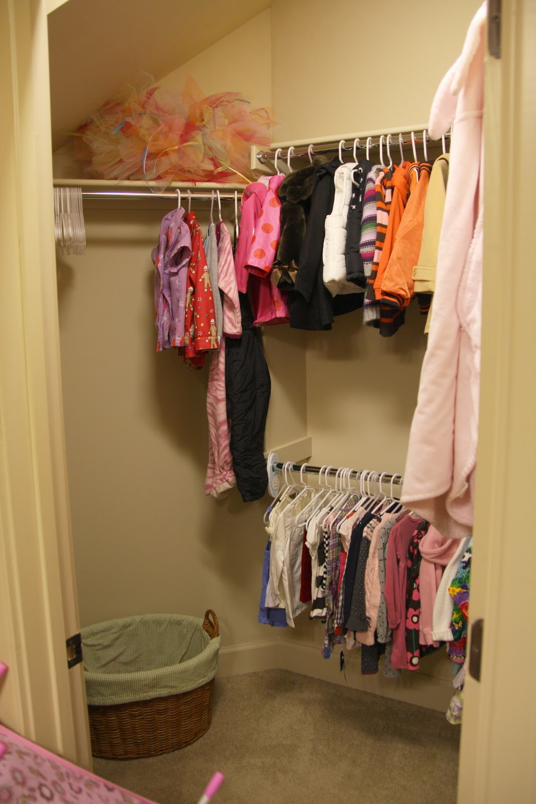 Project Winterize Our Daughter S Closet Simply Organized