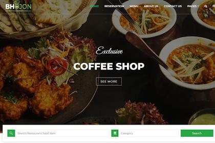 [GRATIS] Download Software Management Restaurant with Website Restaurant - Bhojon v2.8